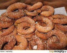Skořicové rohlíčky - My site Christmas Sweets, Christmas Cookies, Sweet Cookies, Sweet Treats, Czech Recipes, Ethnic Recipes, Czech Desserts, Cooking Recipes, Healthy Recipes