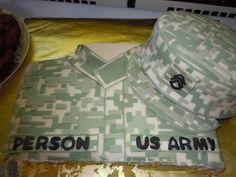 Army Retirement Cake Ideas Retirement military cake.
