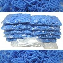 Light Blue Rainbow Loom Rubber Bands 6000 pcs