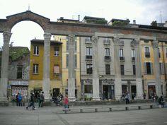 Le colonne di San Lorenzo. Milano, Italy