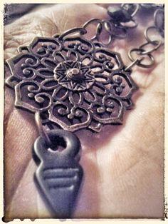mandala necklace by Zuzka´s Workshop