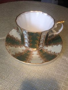 Vintage Elizabethan tea cup and saucer by VintageSowles on Etsy