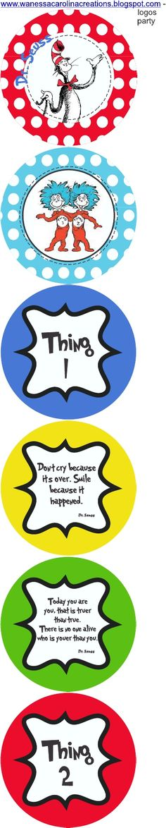 Dr. Seuss activities: FREE Dr. Seuss Printables!