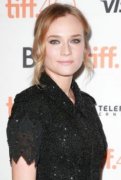 Diane Kruger at the 2015 Toronto premiere of 'Sky'. http://beautyeditor.ca/2015/09/22/tiff-2015