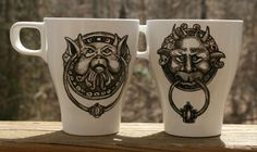 labyrinth mugs