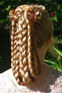 Braids & Hairstyles for Super Long Hair: Simply Elegant Hairstyle
