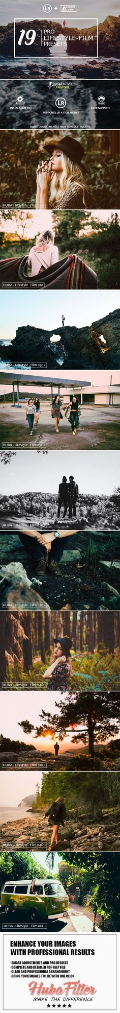 19 Lifestyle Film Lightroom Presets & Camera Raw - Lightroom Presets Add-ons