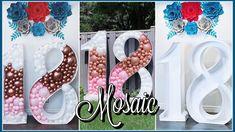 How To Make Balloon, Ideas Decoración, Nook, Mosaic, Celebration, Balloons, Entertaining, Birthday, Youtube