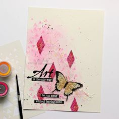 Magenta: Escape the Everyday/ Échappez au quotidien Art Journal Pages, Art Journaling, Leaving Home, Try Something New, The Only Way, Magenta, Freedom, Mixed Media, Scrap