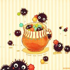 Soot sprites are adorable!!