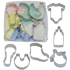 BABY 6 PC Cookie Cutter Set > Additional info @ : Baking Accessories