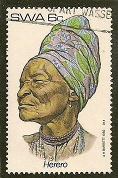 South West Africa Scott 499 Headdress Used - .20