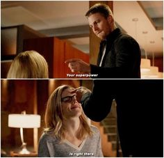 Arrow - Oliver & Felicity #4.11 #Olicity