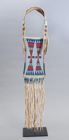 crow mirror bag antique native american indian beadwork for sale purchase 19th…
