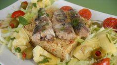 Ensalada de cous-cous y sardinas-bis