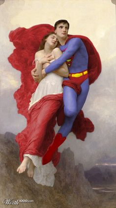 Rapture of Lois, re-done from a Bouguereau painting