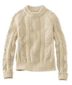 L.L. Bean | Signature Cotton Fisherman Sweater | $89