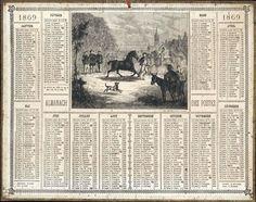 Almanach des Postes 1869