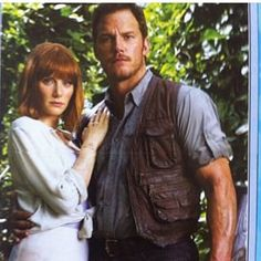 Jurassic world Owen Grady and Claire - Bing images