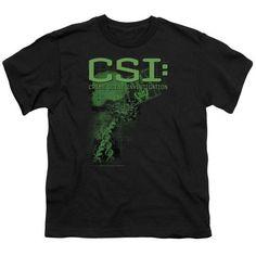 Csi/Evidence - S/S Youth 18/1 - Black - Md, Boy's, Size: Medium