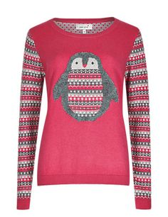 Penguin Jumper with Wool | M&S £35