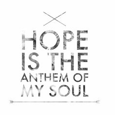Hope is the Anthem- Switchfoot // Where the Light Shines Through