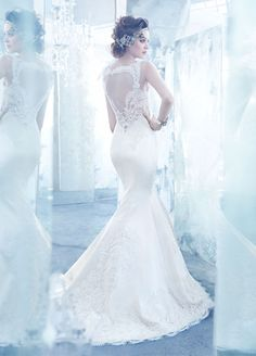 Lazaro Fall 2013 Bridal Gown Collection via Belle The Magazine