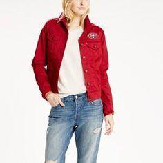 f402e977 Levis® NFL Twill Trucker Jacket Denim Jacket Fashion, Levis Jacket, Denim  Jackets,
