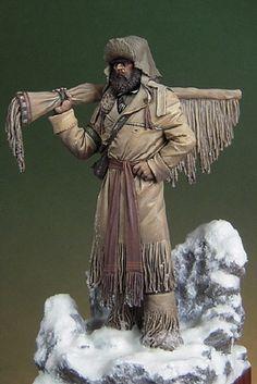 Art Girona- Figure kits  AGA-RG7019  Mountain Man - Rocky Mountains, 1835