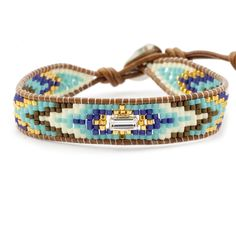 Chan Luu - Turquoise Bead Mix Single Wrap Bracelet on Natural Brown Leather, $140.00 (http://www.chanluu.com/bracelets/turquoise-bead-mix-single-wrap-bracelet-on-natural-brown-leather/)