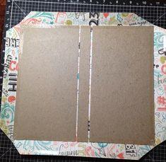 Diy Mini Album, Mini Albums Scrap, Mini Album Tutorial, Mini Scrapbook Albums, Scrapbook Paper, Scrapbook Recipe Book, Hand Doodles, Envelope Book, Bullet Journal Writing