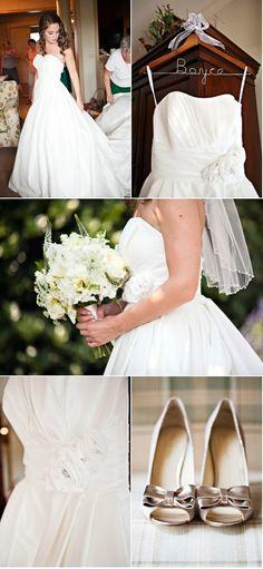 Allure Bridals Style 8771 - Wedding Photography: Melissa Tuck Photography  Photography: Jessica Bennett   #allure #wedding #weddings #realwedding #realbride #allurebridals #bride #bridal #bridalgown #weddingdress #lace #vintage #brandisbridal #2014bride #2014wedding #weddingideas #vintagewedding