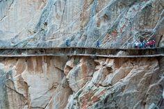 El Caminito del Rey, una ruta de vértigo