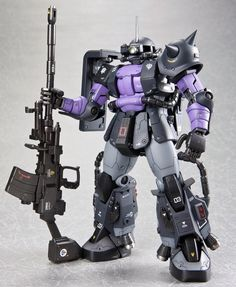LIVINGON's IMPROVED Black Tri Stars GAIA and ORTEGA's Custom ZAKU II: Full Amazing PHOTO REVIEWS! | GUNJAP