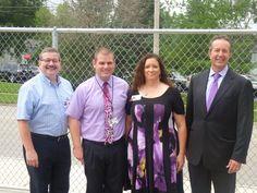 Crystal Lake mayor rings in new school year