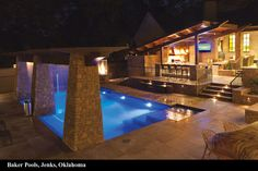 Baker Pools - love this.  This would be my indoor pool
