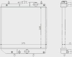 Sirion 1.0 12v Su Radyatörü 1400-97202