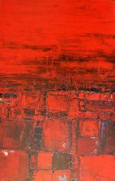 """""""Invitation au voyage VII"""" abstract art"""