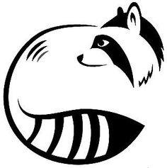 But a beaver Raccoon Drawing, Raccoon Tattoo, Tatoo Simple, Kawaii Tattoo, Animal Templates, Animal Symbolism, Pet Rocks, Racoon, Woodland Creatures