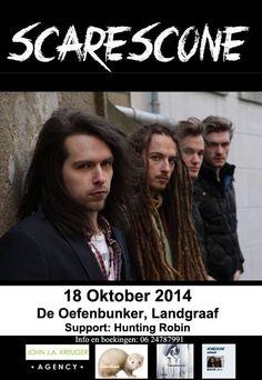 Zaterdag 18 oktober om 20:00 [locatie: Oefenbunker] Entree aan de deur: 5 Euro