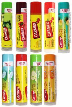 Carmexflavored Lip Balm Moisturizing Spf 15 Sunscreen Uncarded You Choose - Kenni Owens - Make-Up Carmex Lip Balm, Chapstick Lip Balm, Diy Lip Balm, Lip Balms, Flavored Lip Gloss, Lip Moisturizer, Lip Care, The Balm, Lilac Lipstick