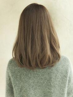 New haircut shoulder length ombre hair style Ideas Medium Hair Cuts, Medium Hair Styles, Curly Hair Styles, Shoulder Length Ombre Hair, Haircuts For Long Hair, Pretty Hairstyles, Hairstyle Ideas, Hair Looks, Hair Lengths