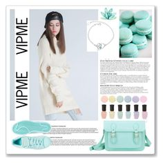 """Vipme 21."" by ruza-b-s ❤ liked on Polyvore featuring adidas, Anja, Deborah Lippmann, women's clothing, women, female, woman, misses, juniors and vipme"