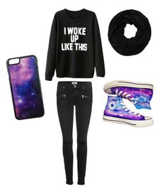"""Untitled #30"" by megsgalley on Polyvore featuring Chicnova Fashion, Paige Denim, Converse, Roial, women's clothing, women's fashion, women, female, woman and misses"