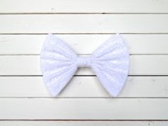 White Dainty Doily Fabric Hair Bow for Girls/Teens/Adults with French Barrette or Alligator Clip Girl Hair Bows, Girls Bows, Fabric Hair Bows, Cute Bows, Barrette, Doilies, French, Accessories, Etsy