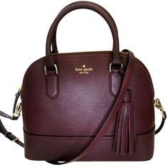 Kate Spade Mccall Street Carli Leather Handbag Mahogany Satchel. Save 44% on the Kate Spade Mccall Street Carli Leather Handbag Mahogany Satchel! This satchel is a top 10 member favorite on Tradesy. See how much you can save