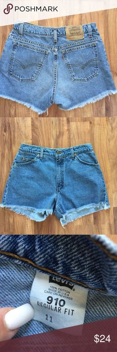 Urban Outfitters Levi's high waisted shorts Fits size 10!!!!! PAYED WELL OVER 50$ Vintage frayed high waisted shorts. Everything must go!!! SHIPS TODAY!! Make offers. Urban Outfitters Shorts Jean Shorts
