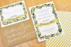 New Wedding Invitations for the New Year