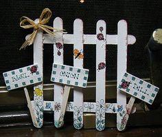 Crafty Garden Fence