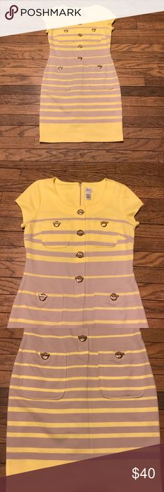 70s Inspired Dress Cache Dress in excellent condition. This retro dress is perfect for spring. What better way to welcome back the warm sunshine than with a bright retro dress. Size 10 and is true to size. From a smoke free home. Cache Dresses Midi